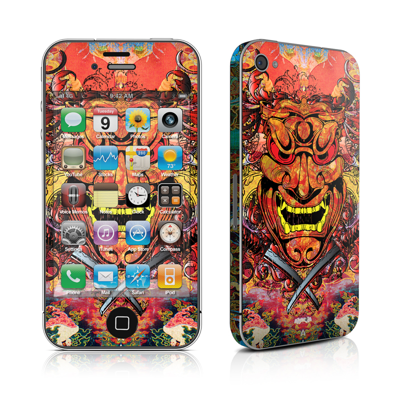 Asian Crest iPhone 4s Skin
