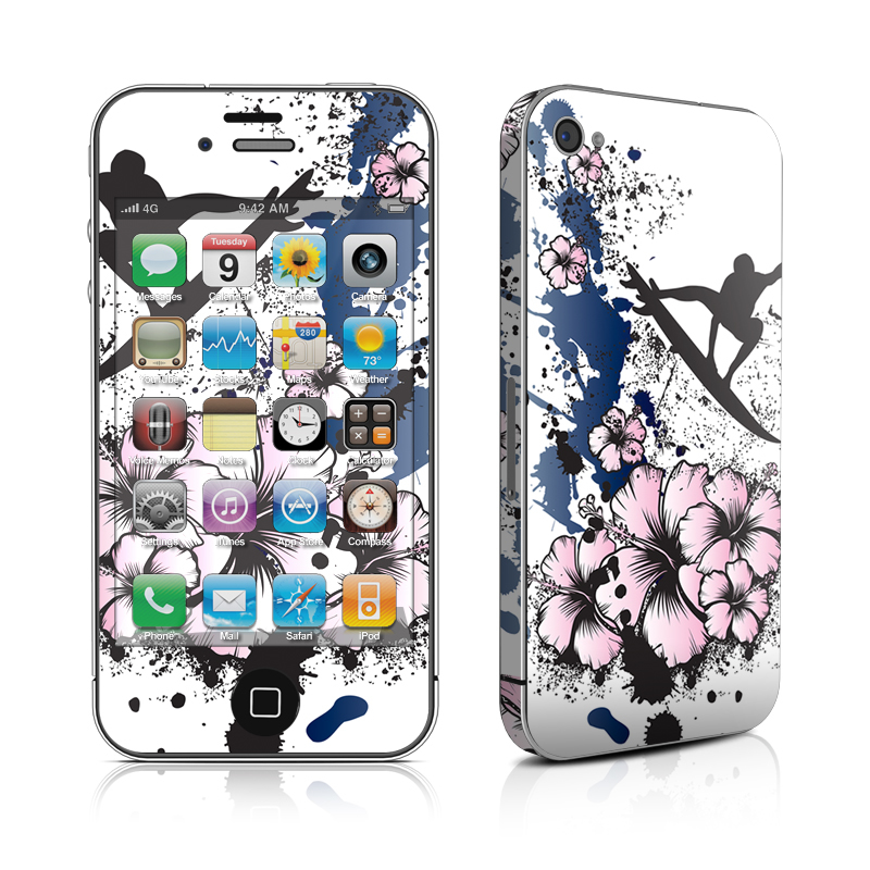 iPhone 4s Skin design of Graphic design, Illustration, Happy, Fictional character, Art, Graphics, Kung fu with white, black, pink, blue colors