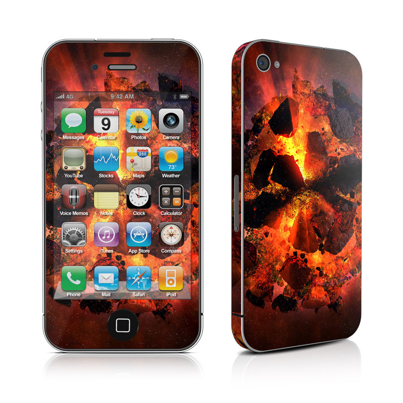 Aftermath iPhone 4s Skin