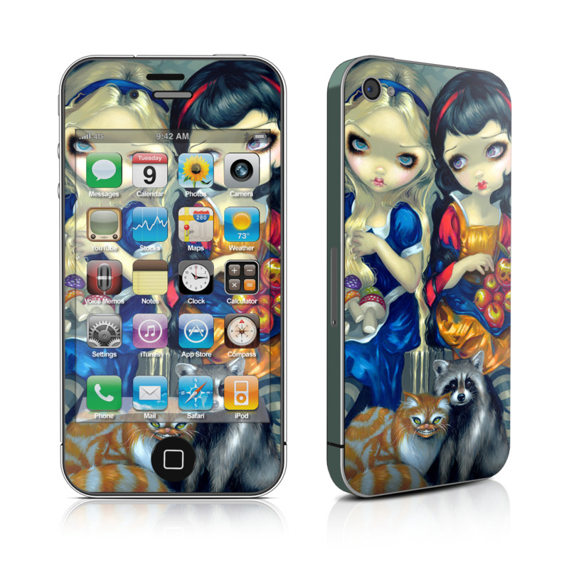 Alice & Snow White iPhone 4s Skin