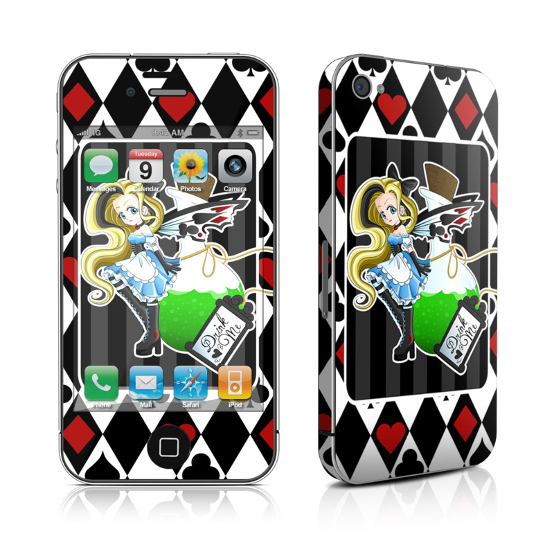 Alice iPhone 4s Skin