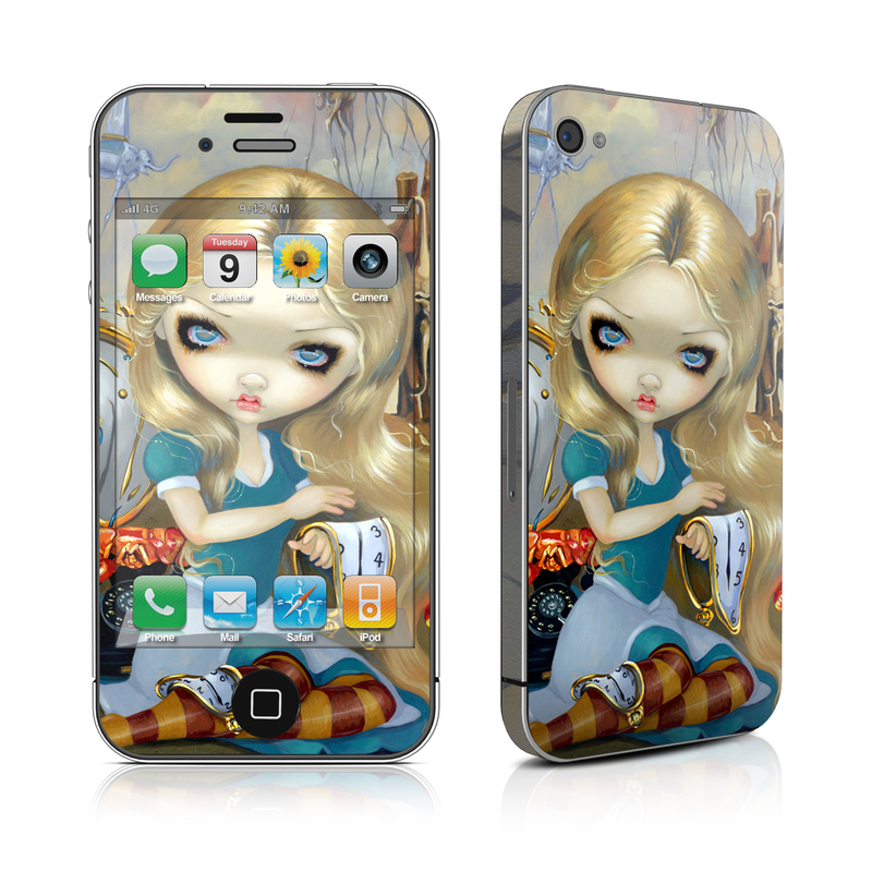 Alice in a Dali Dream iPhone 4s Skin