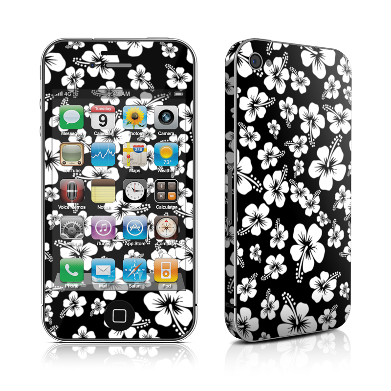Aloha Black iPhone 4 Skin