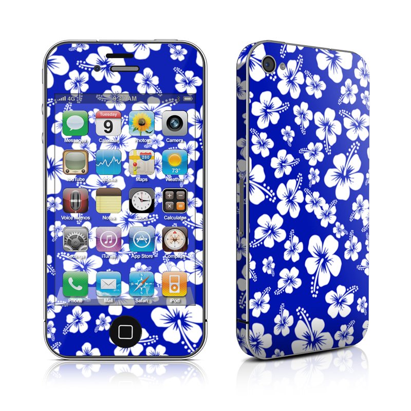 Aloha Blue iPhone 4 Skin