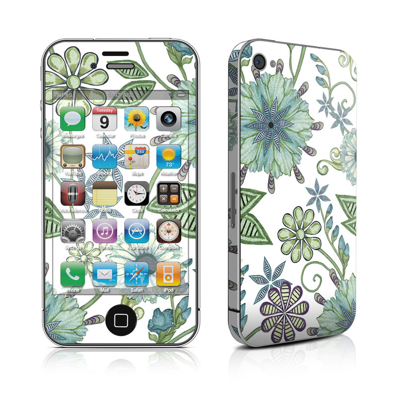 Antique Nouveau iPhone 4s Skin