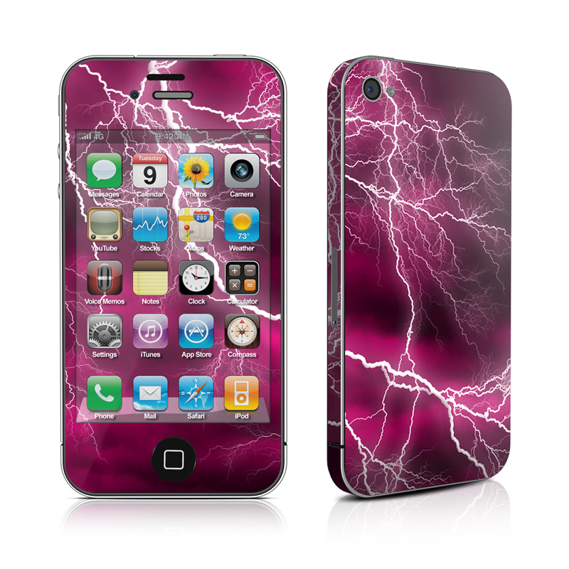 Apocalypse Pink iPhone 4 Skin