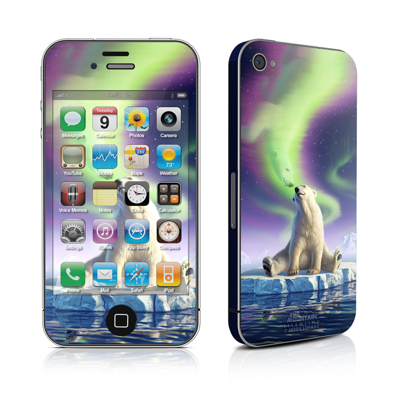 Arctic Kiss iPhone 4 Skin