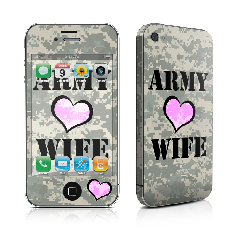 Army Wife iPhone 4s Skin