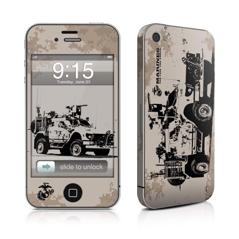 Artillery iPhone 4 Skin