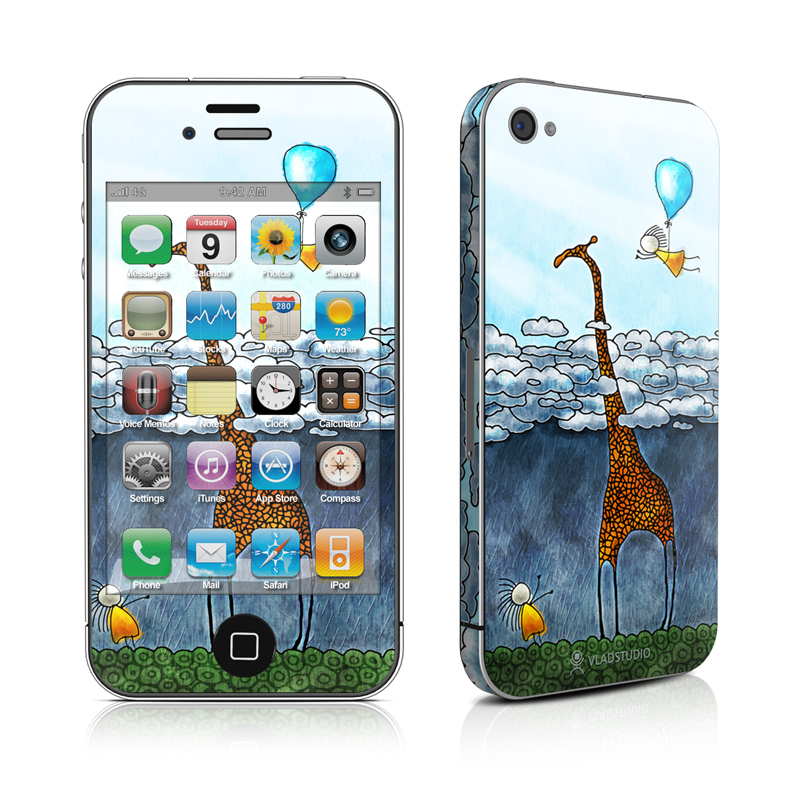 Above The Clouds iPhone 4 Skin