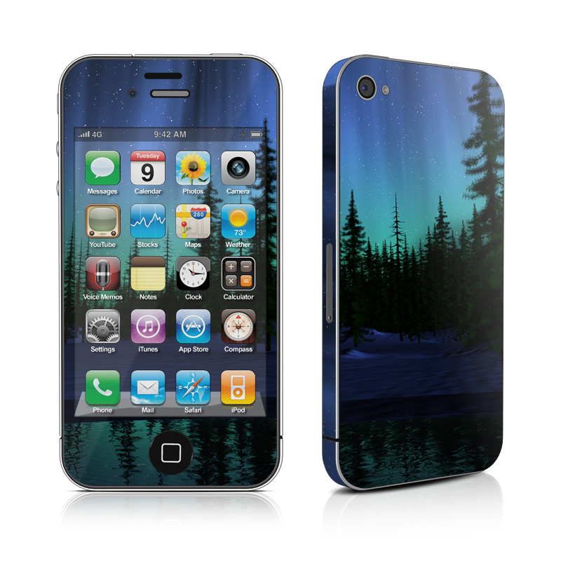 Aurora iPhone 4s Skin