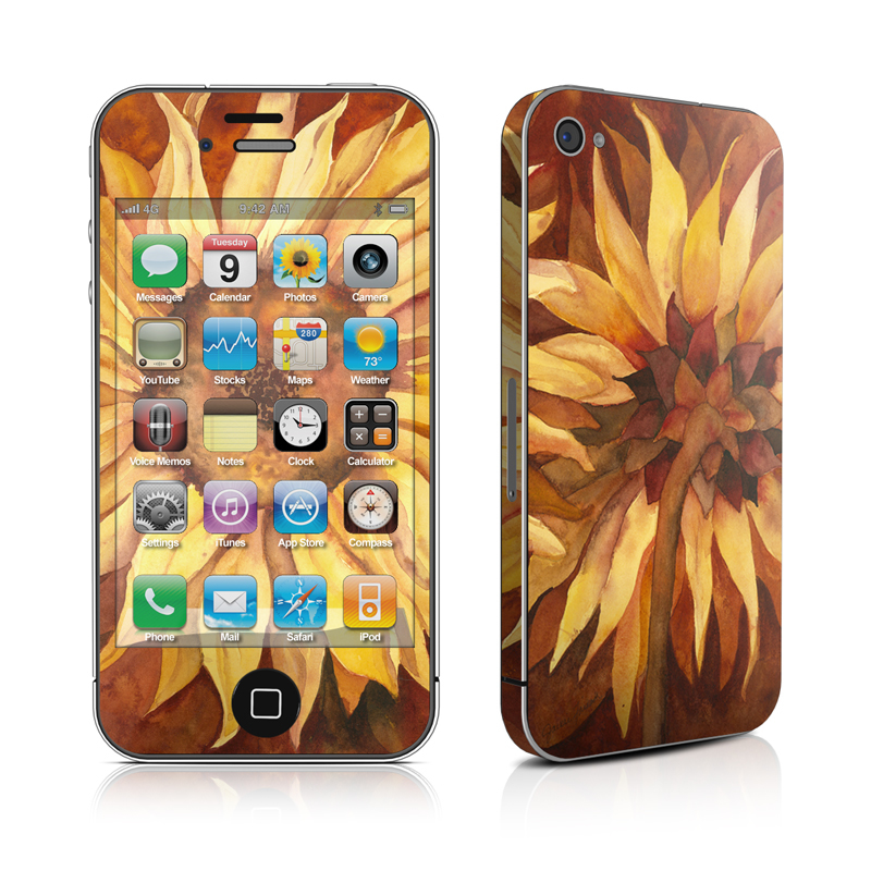 Autumn Beauty iPhone 4s Skin
