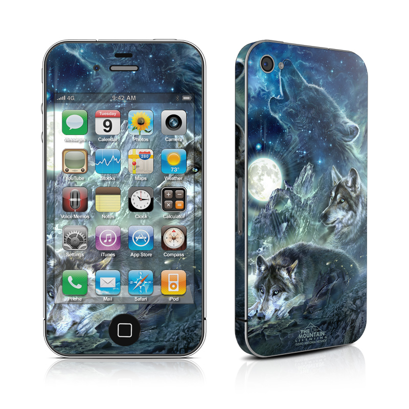 Bark At The Moon iPhone 4s Skin