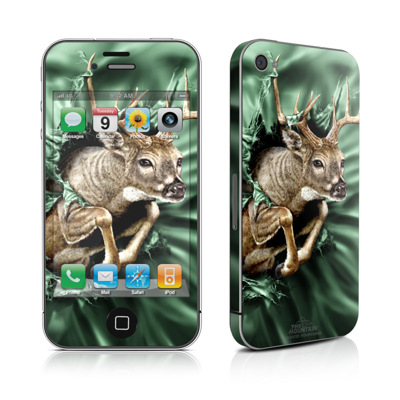 Break Through Deer iPhone 4s Skin