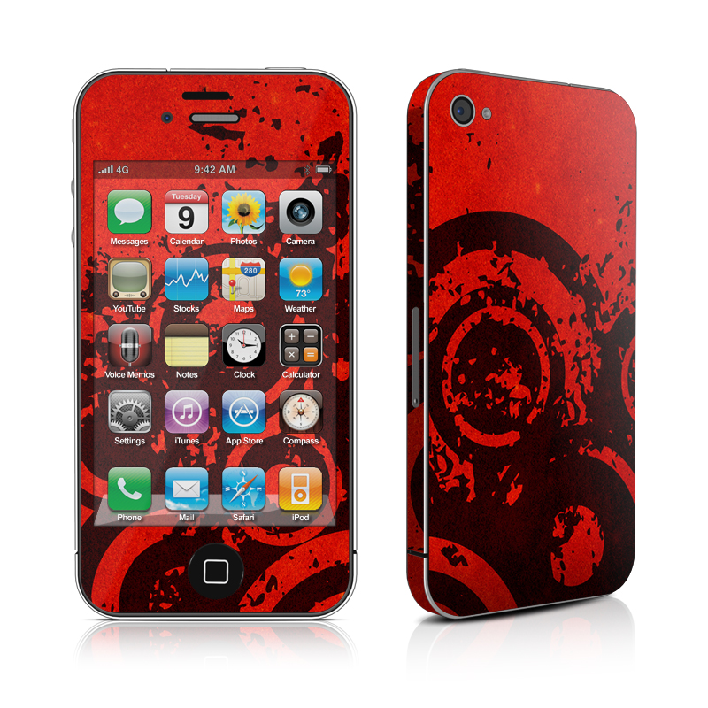 Bullseye iPhone 4s Skin