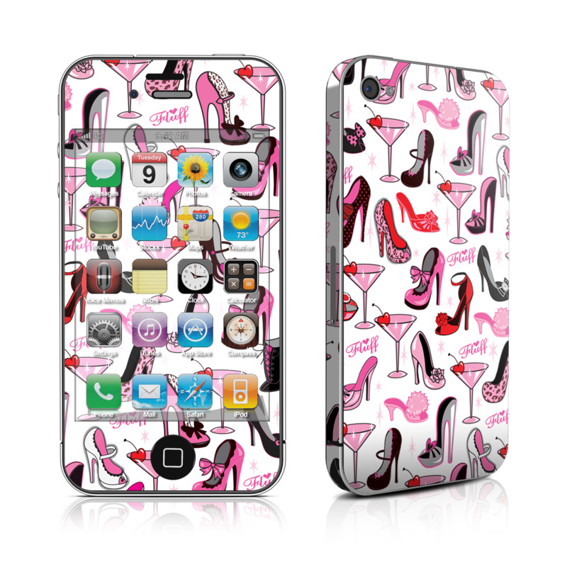 Burly Q Shoes iPhone 4 Skin