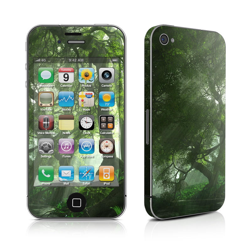 Canopy Creek Spring iPhone 4 Skin