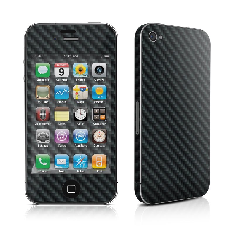 Carbon iPhone 4 Skin