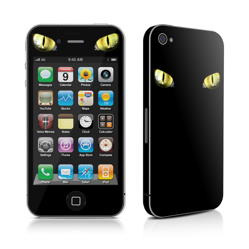 Cat Eyes iPhone 4 Skin