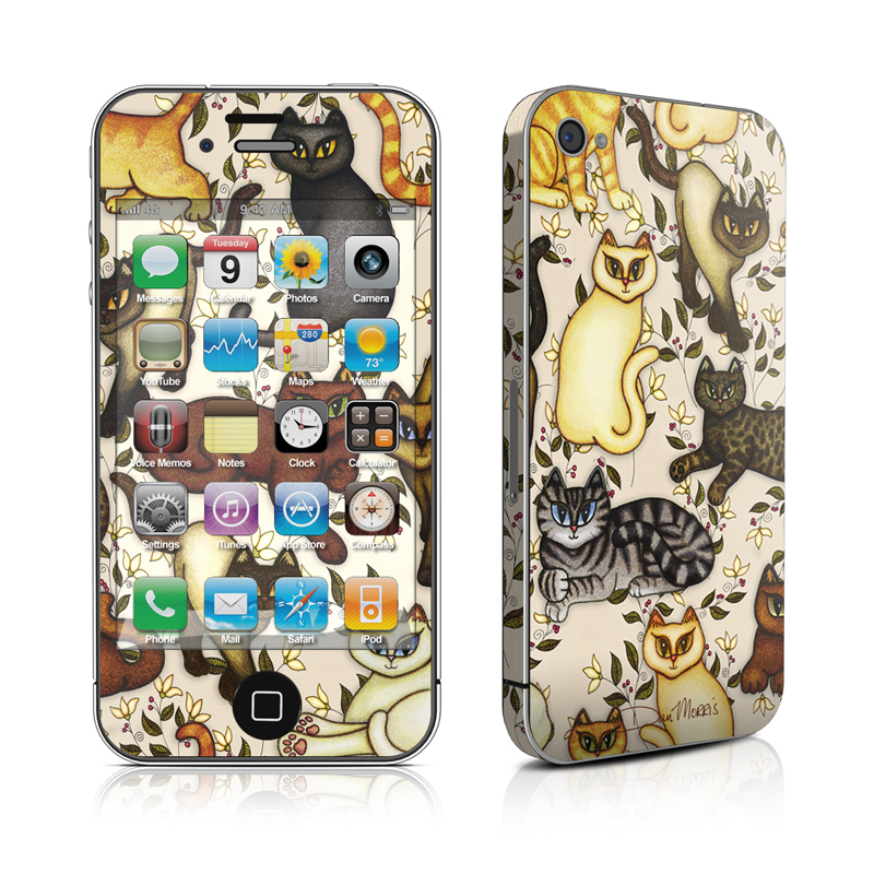 Cats iPhone 4 Skin