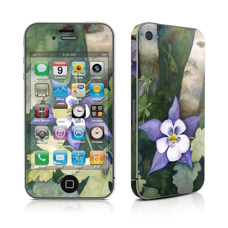 Colorado Columbines iPhone 4s Skin