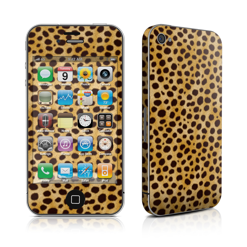 Cheetah iPhone 4 Skin
