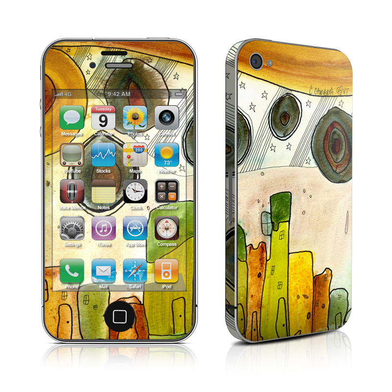 City Life iPhone 4s Skin