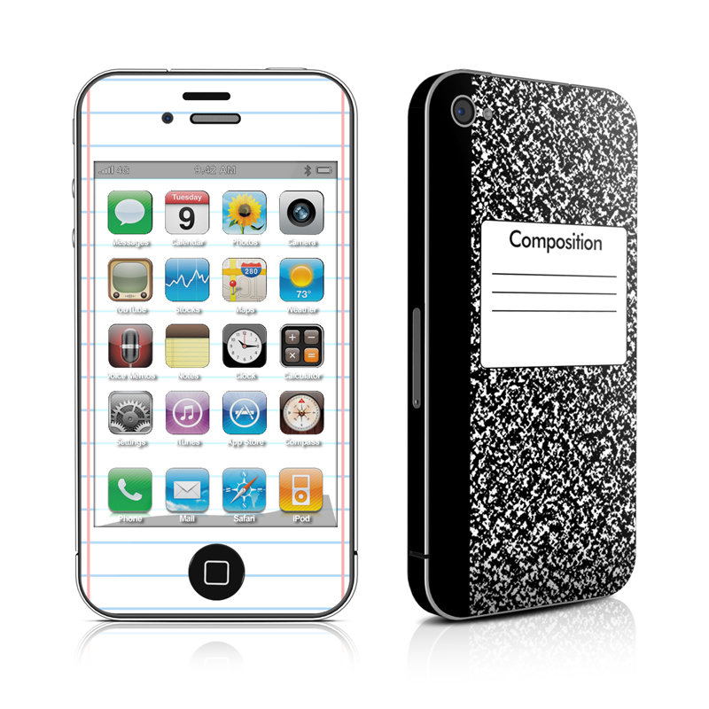 iPhone 4s Skin design of Text, Font, Line, Pattern, Black-and-white, Illustration with black, gray, white colors