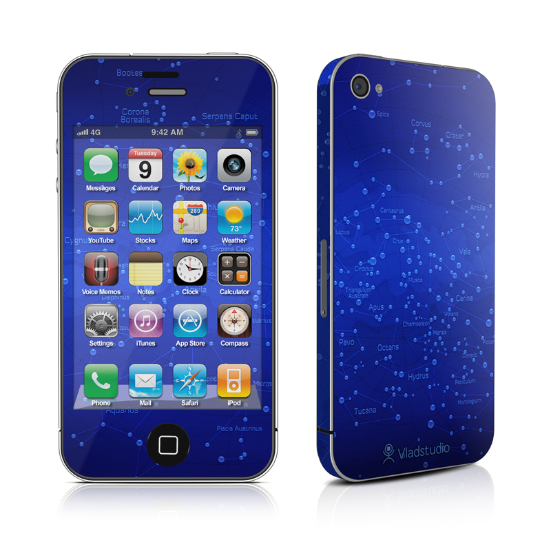 Constellations iPhone 4 Skin