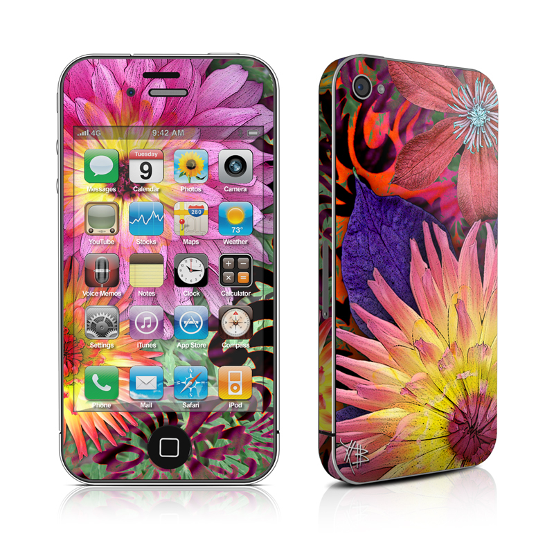 Cosmic Damask iPhone 4 Skin