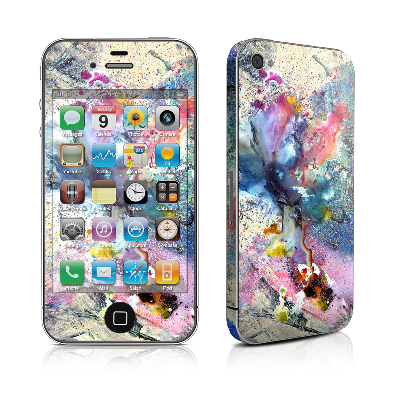 Cosmic Flower iPhone 4s Skin