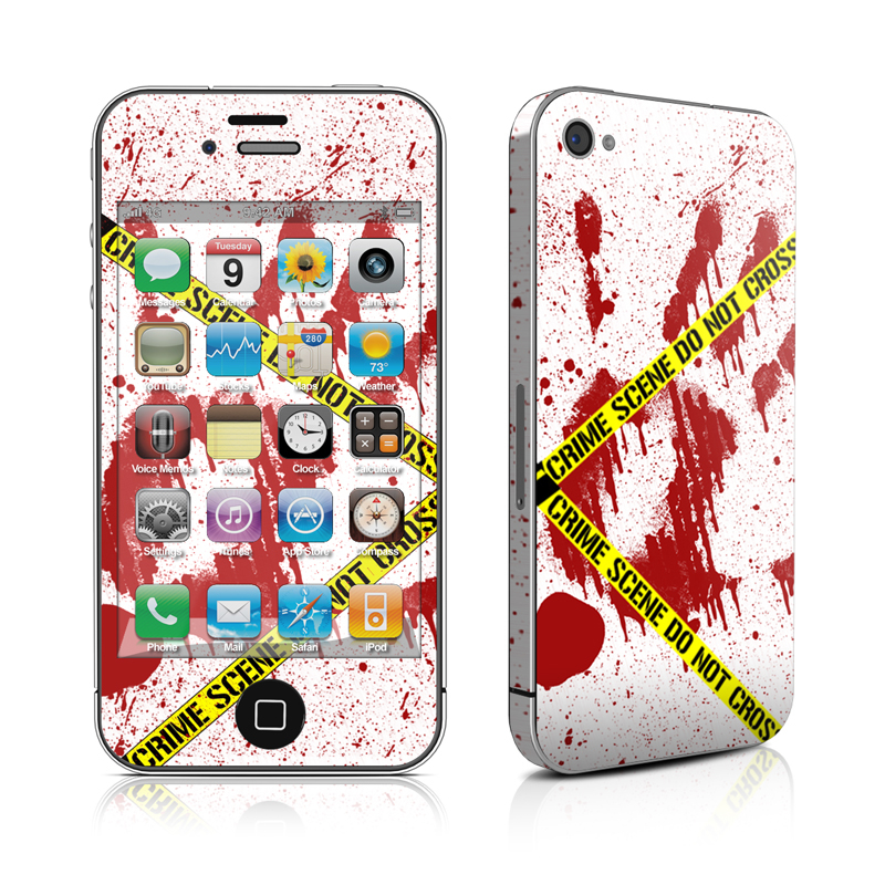 Crime Scene Revisited iPhone 4s Skin
