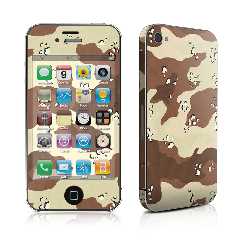 Desert Camo iPhone 4 Skin