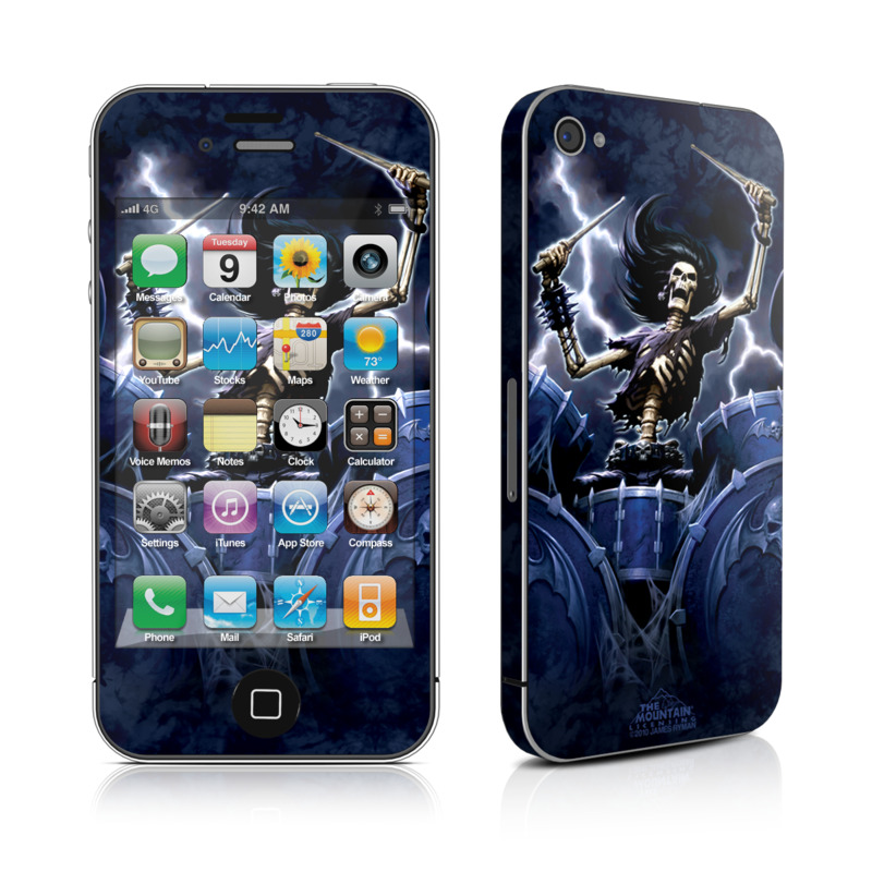 Death Drummer iPhone 4 Skin
