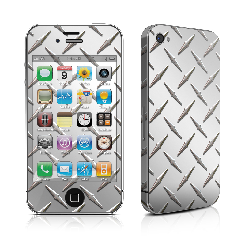 Diamond Plate iPhone 4s Skin