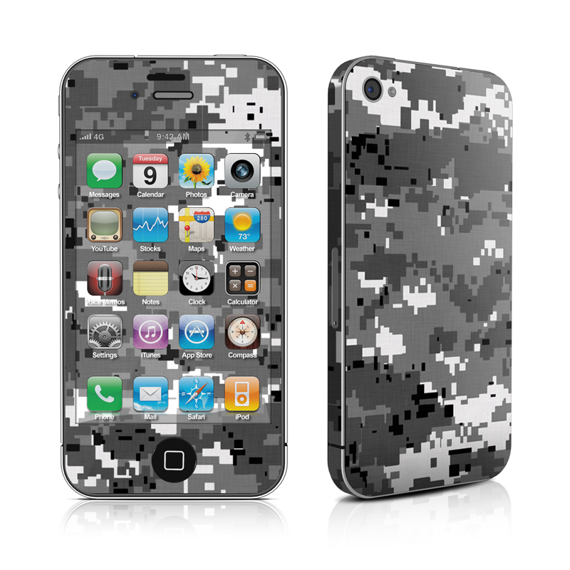 Digital Urban Camo iPhone 4 Skin