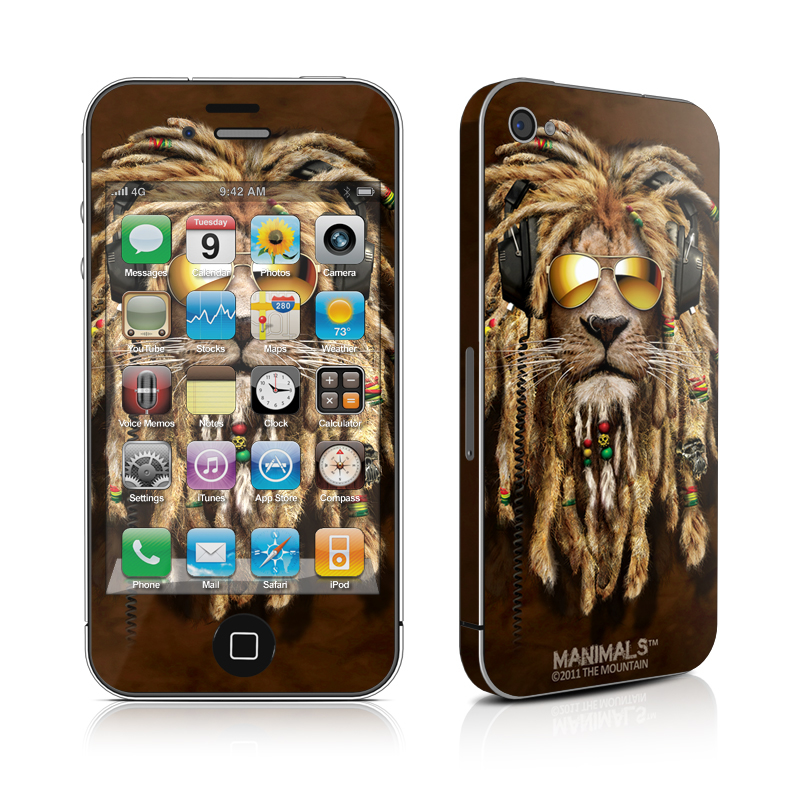 DJ Jahman iPhone 4 Skin
