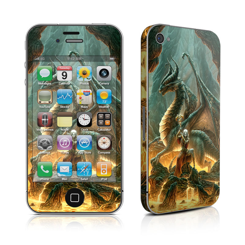 Dragon Mage iPhone 4 Skin