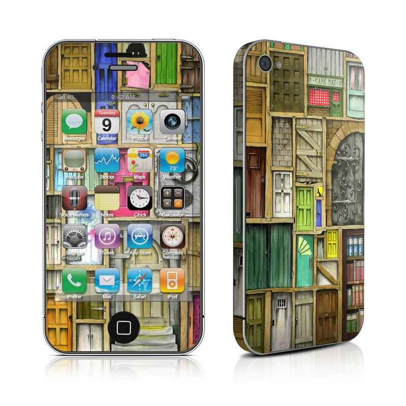 Doors Closed iPhone 4s Skin