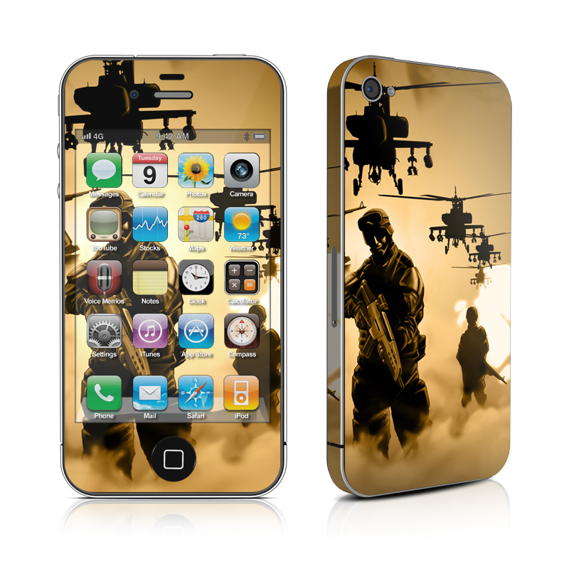 Desert Ops iPhone 4 Skin