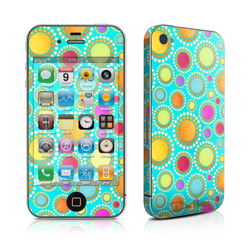 Dot To Dot iPhone 4 Skin