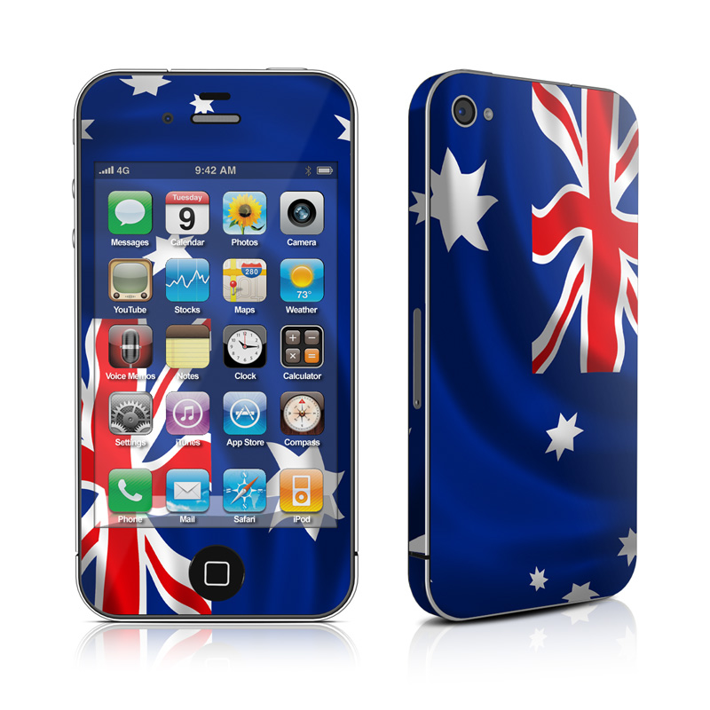 Down Under iPhone 4 Skin