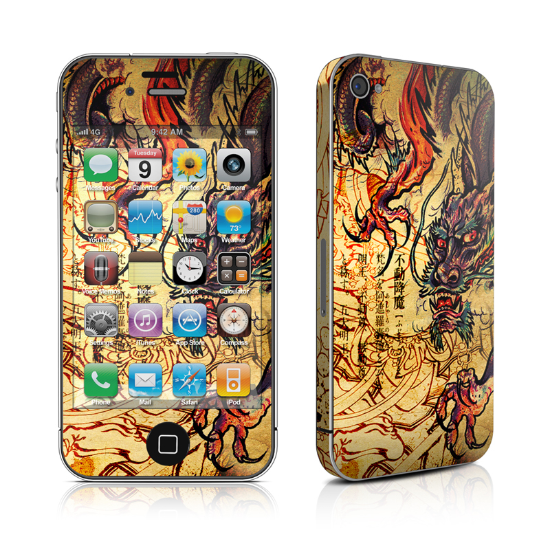 Dragon Legend iPhone 4s Skin