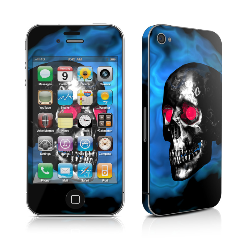 Demon Skull iPhone 4 Skin