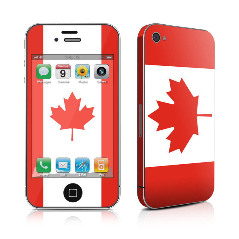 Canadian Flag iPhone 4 Skin