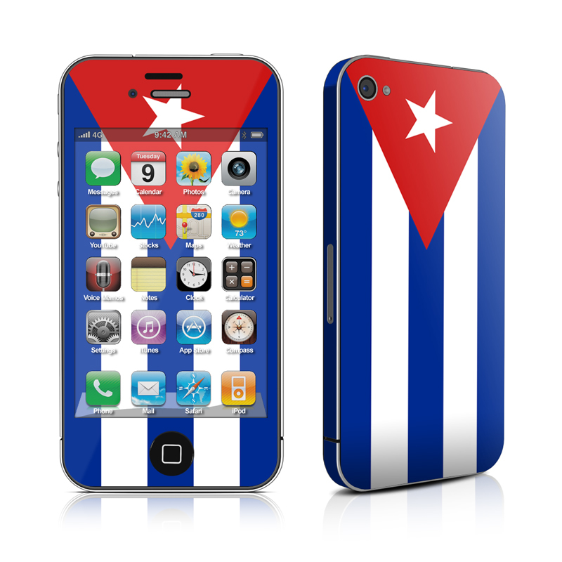 Cuban Flag iPhone 4 Skin