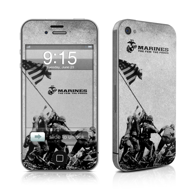 Flag Raise iPhone 4 Skin