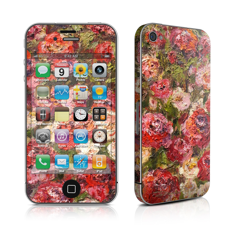 Fleurs Sauvages iPhone 4s Skin