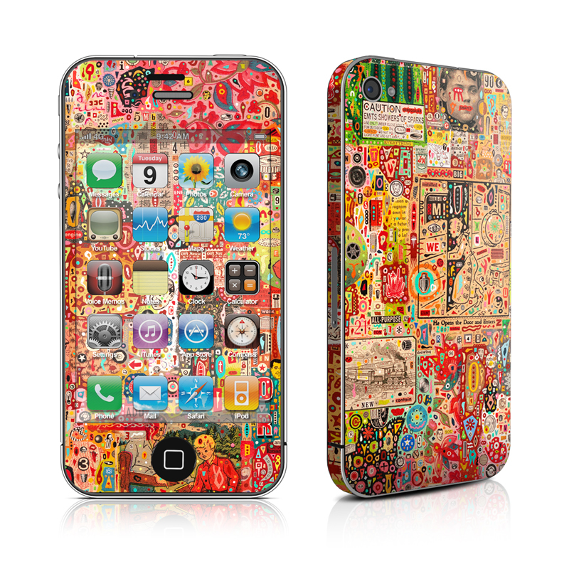 Flotsam And Jetsam iPhone 4 Skin