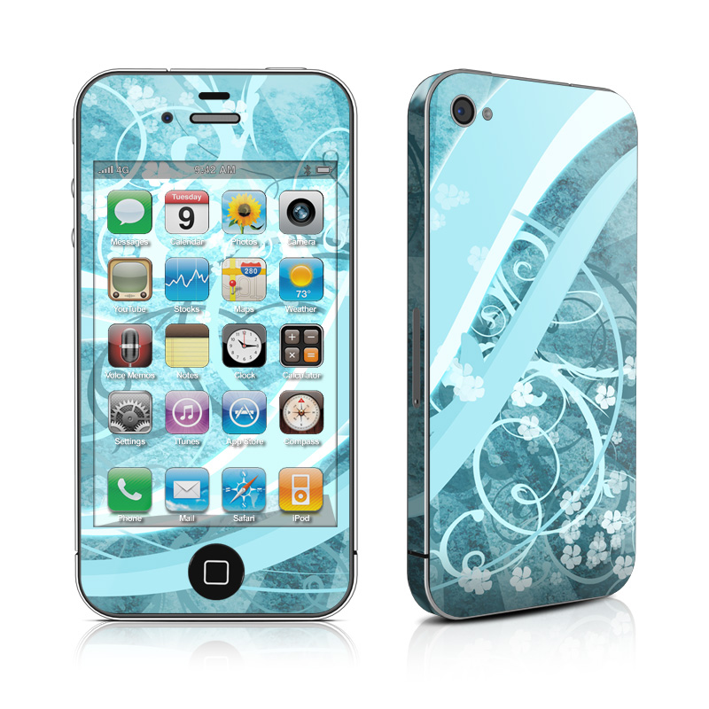 Flores Agua iPhone 4s Skin